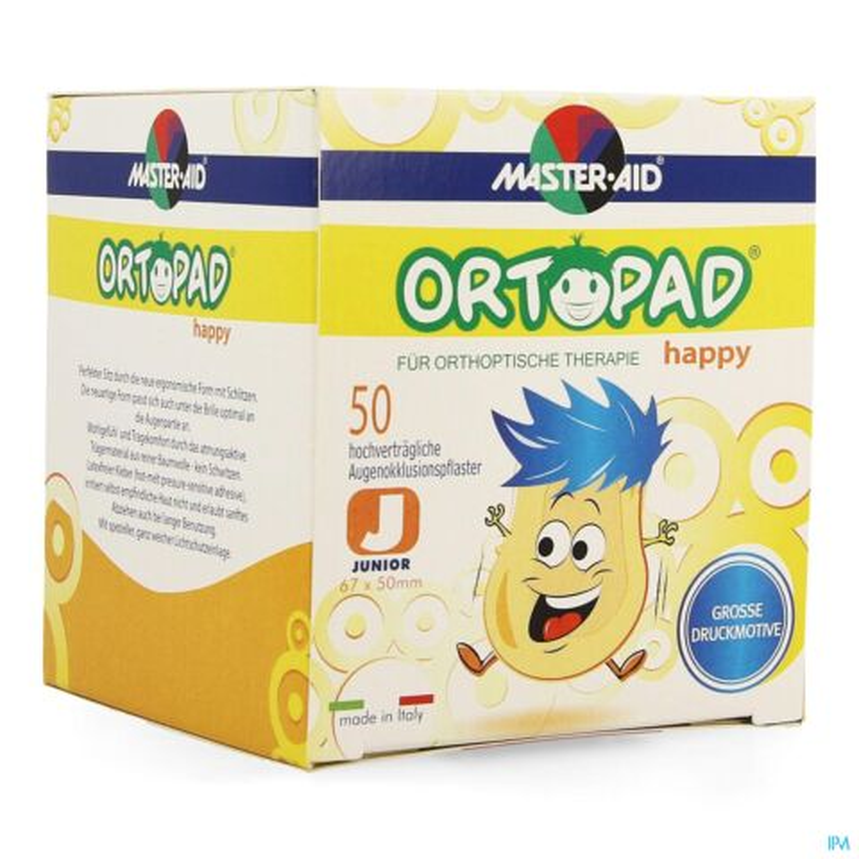 Ortopad Happy Junior Cp Ocul 50 70131