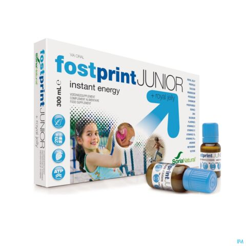 Soria Fost Print Junior Ampoule Buvable 20x15ml