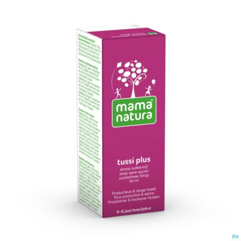 Mama Natura Tussi Plus Sirop Flacon 50ml