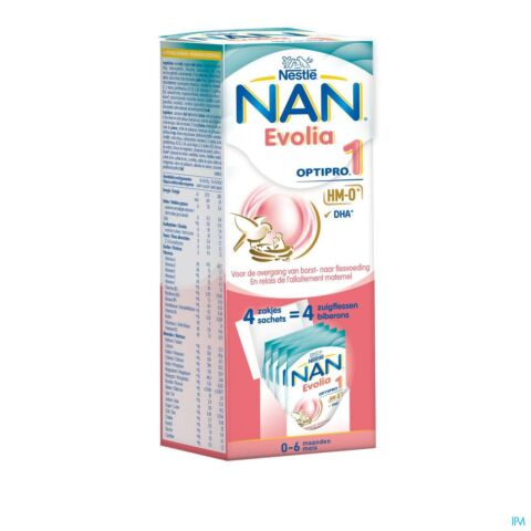 NAN EVOLIA OPTIPRO 1 4X26G