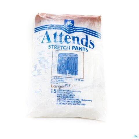 ATTENDS SLIP STRETCHPANT FIXATION LARGE 1X15