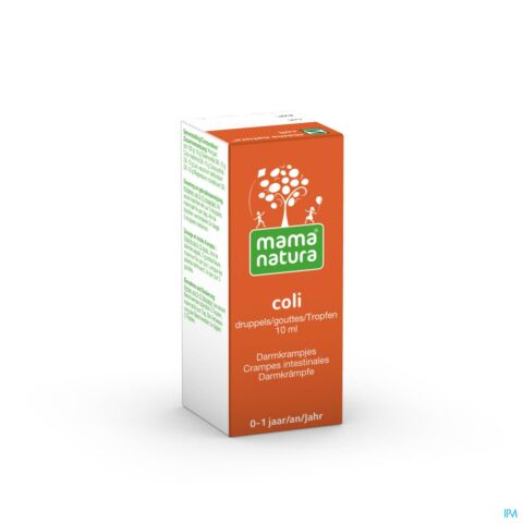 Mama Natura Coli Solution Buvable en Gouttes Flacon 10ml