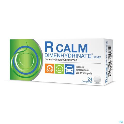 R Calm Dimenhydrinate 24 Comprimés