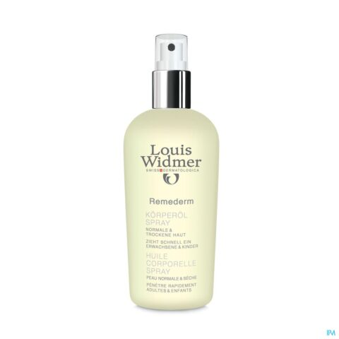 Louis Widmer Remederm Huile Corporelle Parfumée Spray 150ml