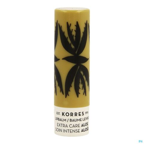 KORRES KB LIPBALM ALOE EXTRA CARE 5ML