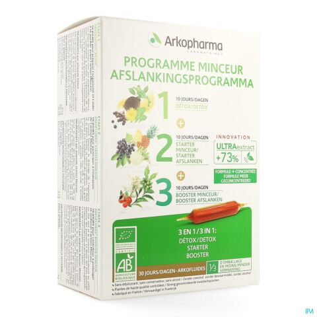 Arkopharma Arkofluides Programme Minceur 30 Ampoules