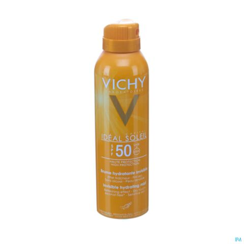 Vichy Idéal Soleil Brume Hydratante Invisible IP50 Spray 200ml