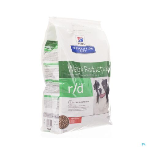 Hills Prescrip Diet Canine Rd 4kg 6654m