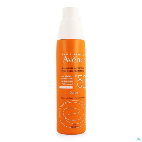 Avène Protection Solaire Spray IP50+ 200ml