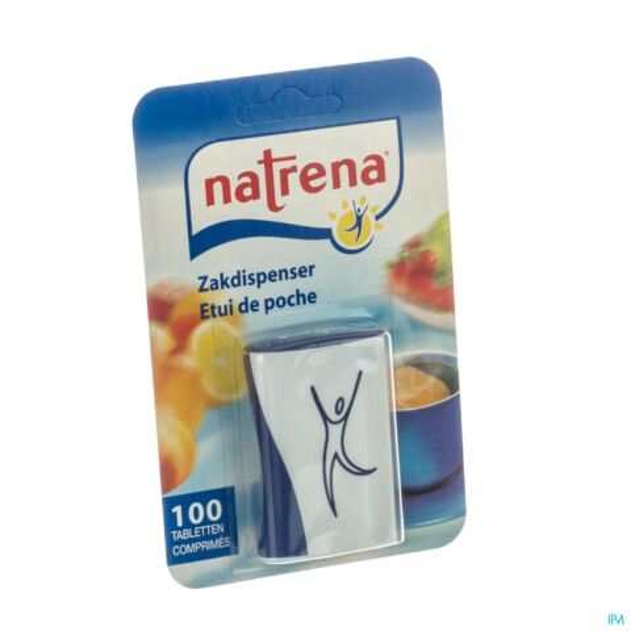 Natrena Edulcorant de Table Etui de Poche 100 Comprimés
