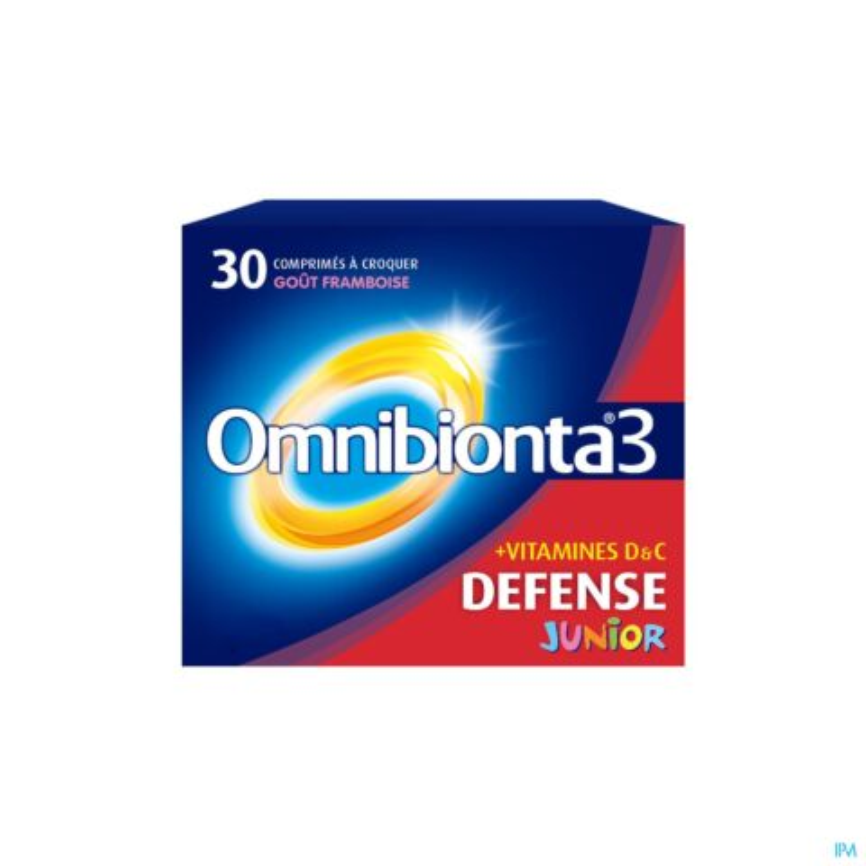 Omnibionta 3 Junior Framboise 30 Comprimés à Croquer