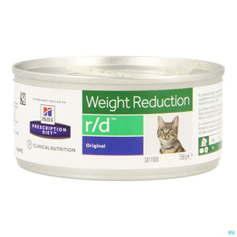 Hills Prescrip Diet Feline Rd Minced 156g 9454yt