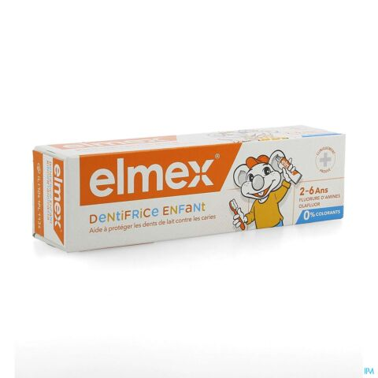 Elmex Dentifrice Enfant 2-6 Ans 50ml