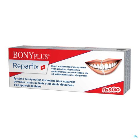 BONYPLUS DENTAL REPARFIX KIT REPARATION PROTHESE