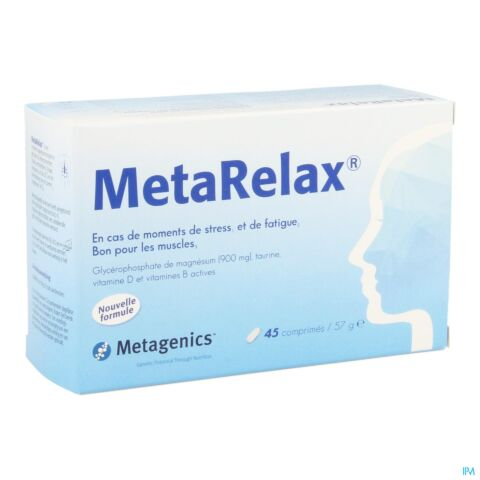METARELAX NF TABL 45 21874 METAGENICS