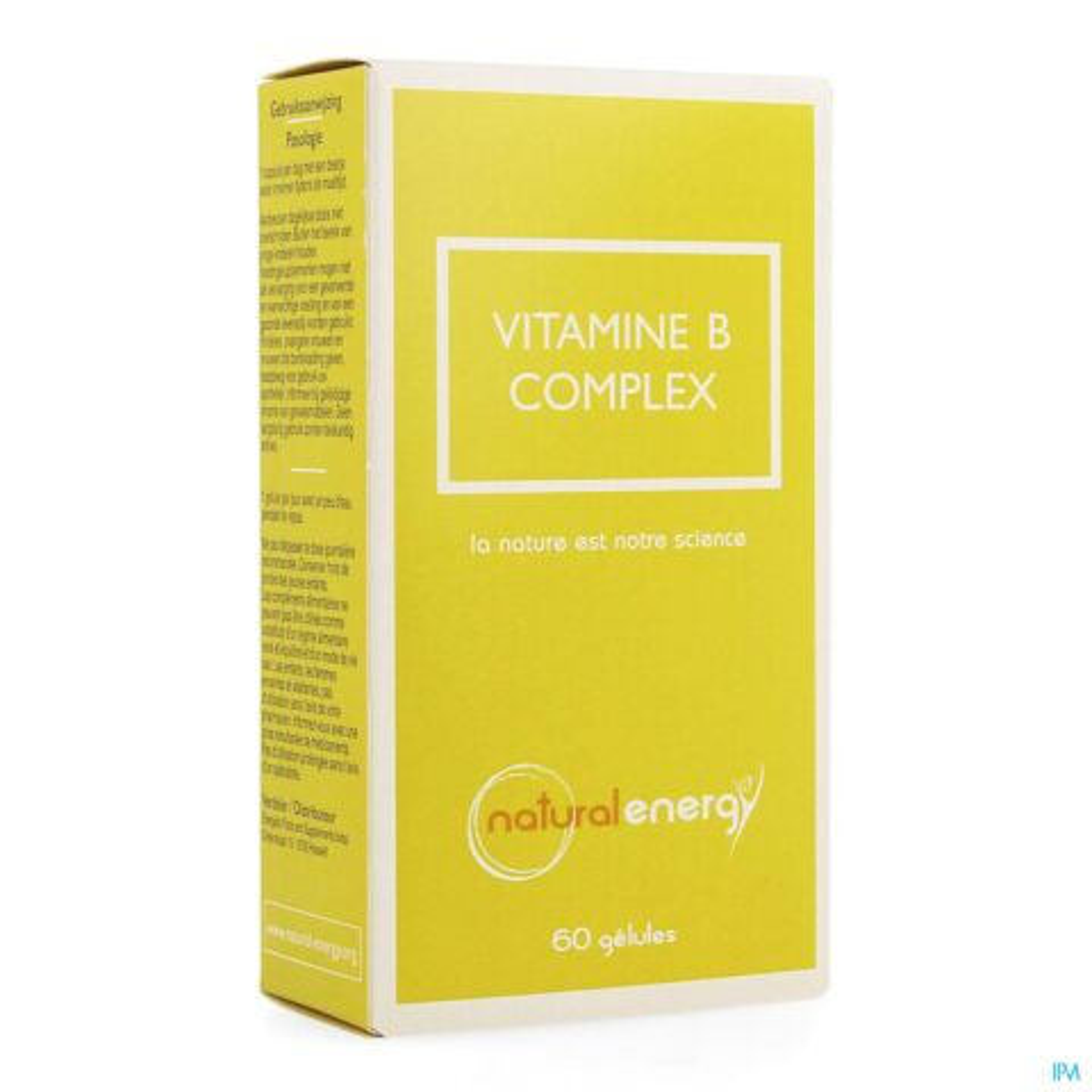Natural Energy Vitamine B-Complex 60 Gélules