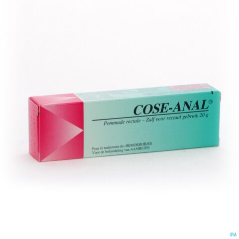 Cose-Anal Pommade Rectale Tube 20g
