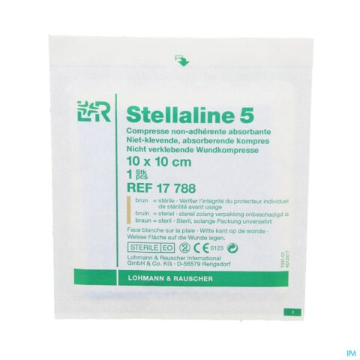 STELLALINE 5 COMP STER 10,0X10,0CM 100 17788