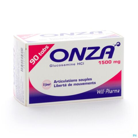 ONZA 1500MG ARTICULATIONS SOUPLES COMP 90