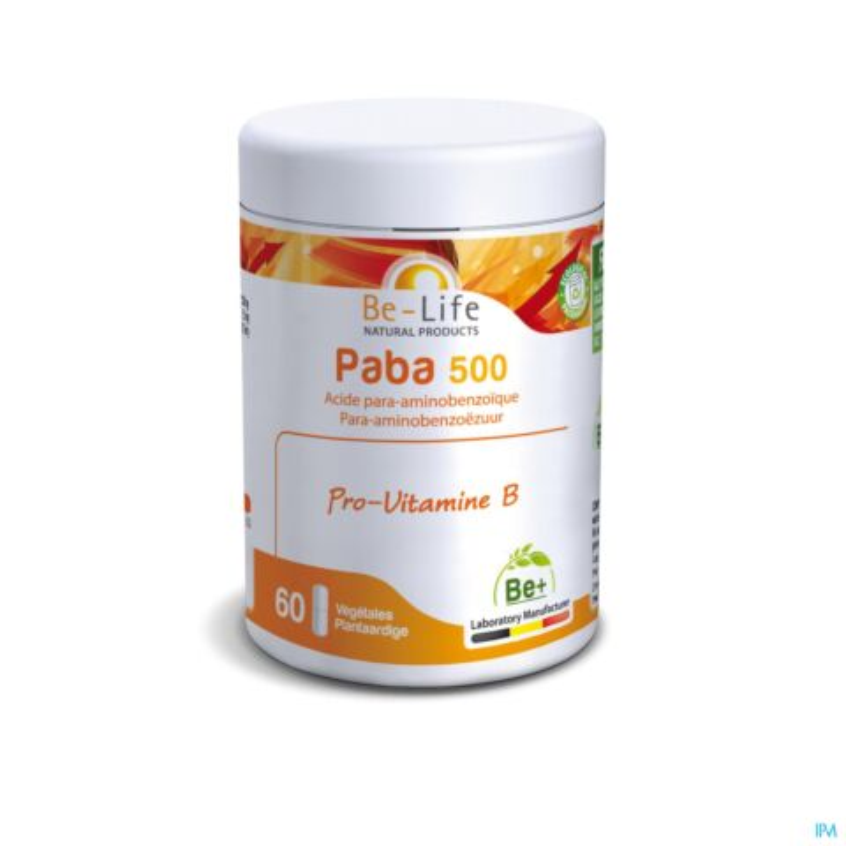 Be-Life Paba 500 Pro-Vitamine B 60 Gélules