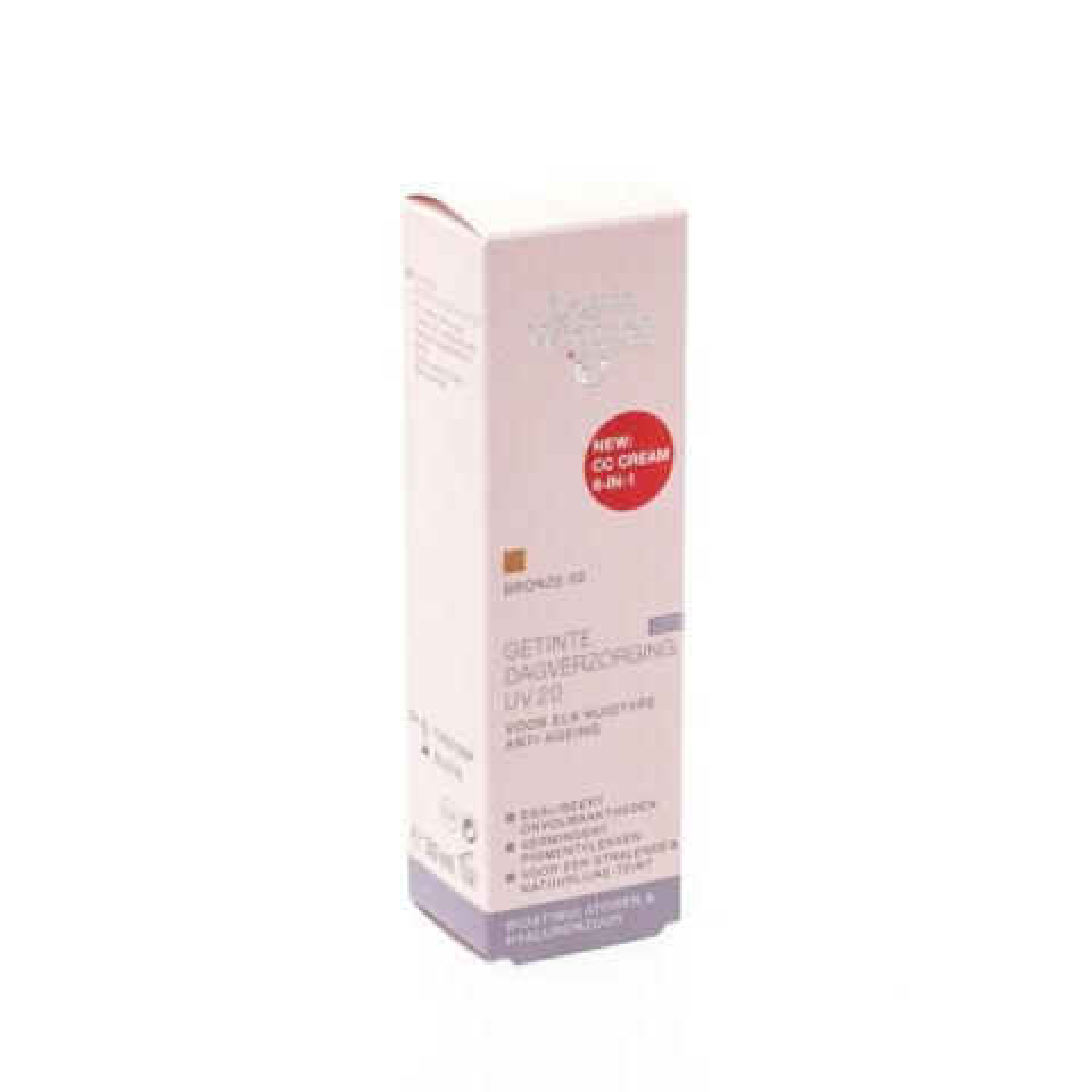 Louis Widmer Soin Teinté Hydratant UV20 Bronze 02 Sans Parfum Tube 30ml